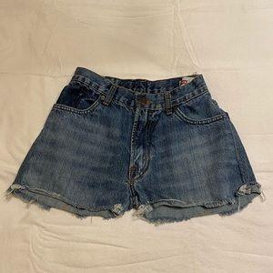 Mid Rise Levis Shorts